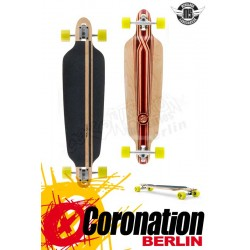 Mindless Savage III Longboard Drop Thru Downhill Cruiser Red