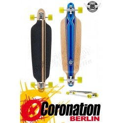 Mindless Savage III Longboard Drop Thru Downhill Cruiser Blue