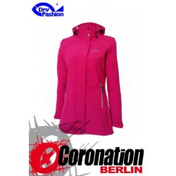 Dry Fashion Damen Softshell Jacke Sylt Sangria