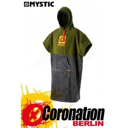 Mystic Poncho Regular - Army/Grey