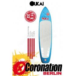 "OUKAI SUP Board 11'2 x 32"""