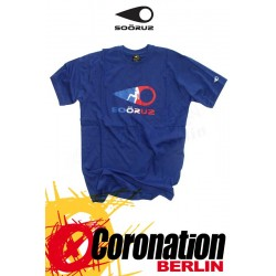 Soöruz T-Shirt Marone SS Blue