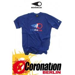 Soöruz T-Shirt Marone SS Blue