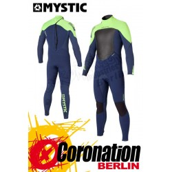 Mystic Star 5/4 D/L neopren suit Blue Yellow