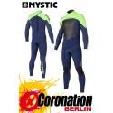Mystic Star 5/4 D/L combinaison neoprène Blue Yellow