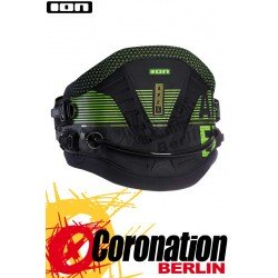 ION Apex 2017 Kite Waist Harness  Black/Green