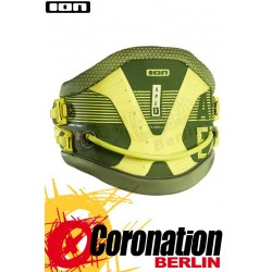 ION Apex 2017 Kite Waist Harness Olive/Sulphur