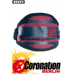 ION Hummer 2017 Kite Waist Harness Petrol/Red