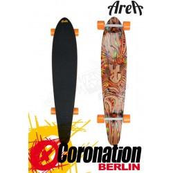 Area Longboard Z-Dance Kicktail Komplett Longboard