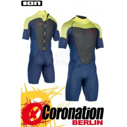 ION Element Shorty SS 2,5 Backzip DL neopren suit 2017 Blue