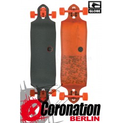 Globe Sledgehog Fibercarve Longboard Tart Orange