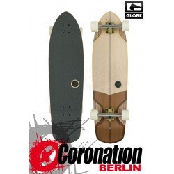 Globe Stubby V-Ply Longboard Off White Brown