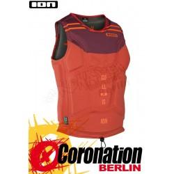 ION Collision Vest Amp 2017 Prallschutzweste Cappuccino/Rust Red