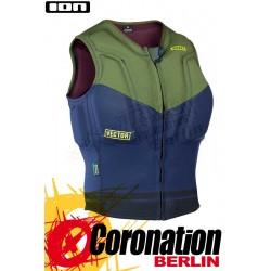 ION Vector Vest 2017 Prallschutzweste Green/Blue