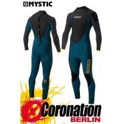 Mystic Majestic 2017 Fullsuit Backzip Neoprenanzug Orange