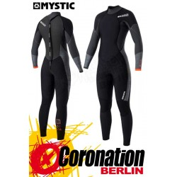 Mystic Diva 2017 Fullsuit 5/3mm Backzip Women Neoprananzug Black