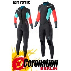 Mystic Diva 2017 Fullsuit 4/3mm Backzip Women Neoprananzug Teal