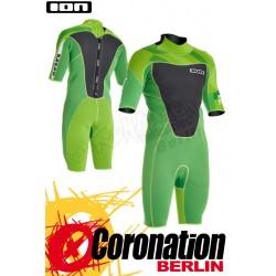 ION Element Shorty SS 2,5 DL Neoprenanzug green