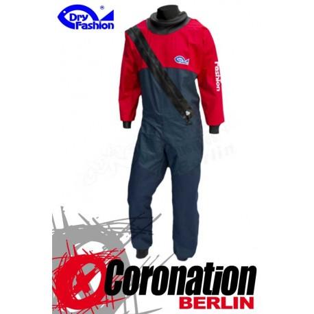 Dry Fashion Trockenanzug Sailing Standard PVC - Navy/Rot