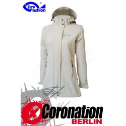 Dry Fashion Damen Softshell Jacke Sylt Creme