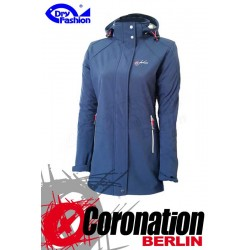 Dry Fashion Damen Softshell Jacke Sylt Navy