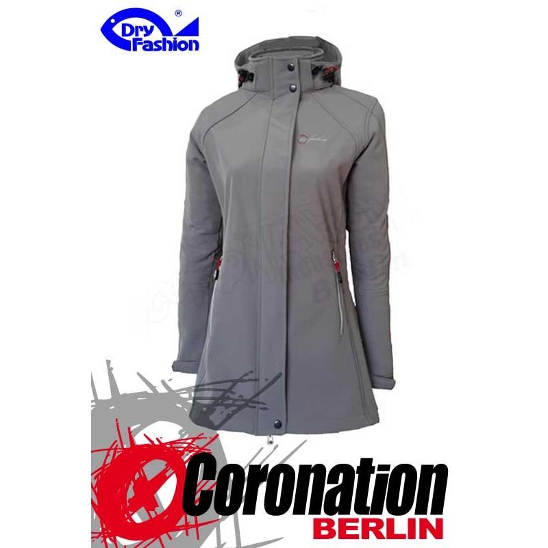 Sylt Fashion Damen Grau Jacke Dry Softshell O0Nn8vwm