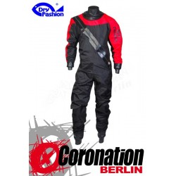 Dry Fashion Trockenanzug Profi-Sailing Regatta - Schwarz/Rot