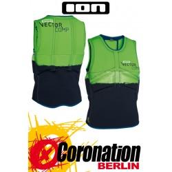 ION Vector Vest Comp Prallschutzweste lime green/black 2015