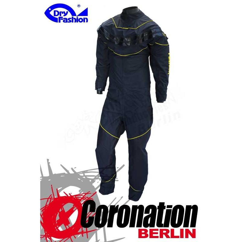 Dry Fashion Trockenanzug Black Performance Black/Neongelb