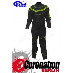 Dry Fashion Black Performance Trockenanzug black/Neon green