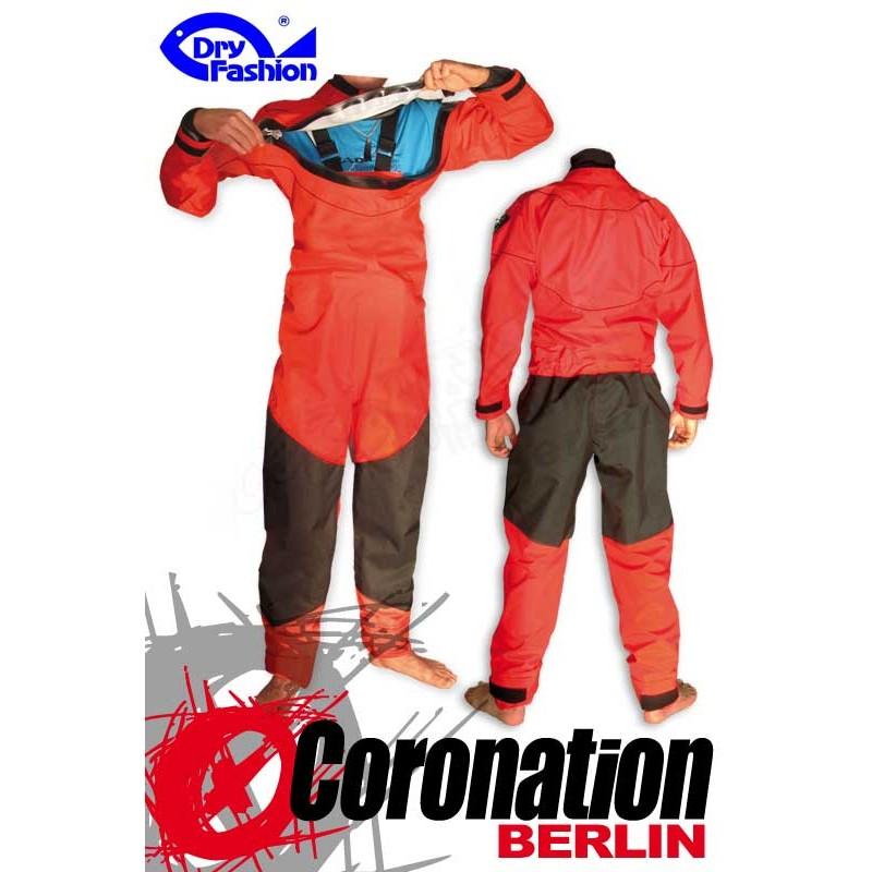 Dry Fashion Trockenanzug Black Performance Rot