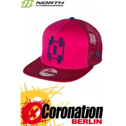North New Era Cap 9fifty A-Frame - Vegas Red