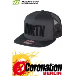 North New Era Cap 9fifty A-Frame - TRUE Grau