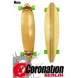 Moose Blank Pintail Longboard Natural
