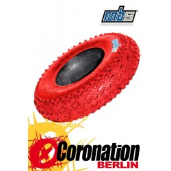 MBS T1 Tyre ATB Reifen 8'' Red
