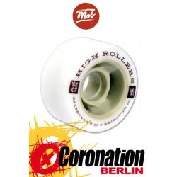 Mob Skateboards High Roller Wheels 65mm White