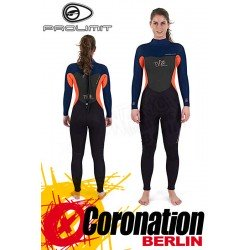 Prolimit Edge 5/3 woman neopren suit Black/Neon Red