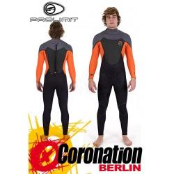 Prolimit Fusion 5/3 FTM Wetsuit Neoprenanzug Orange/Grey