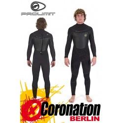 Prolimit Mercury 6/5 Backzp FTM Wetsuit neopren suit Black/Yello