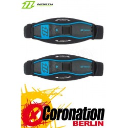 North Surfstraps Surf (pair) with washers & screws Schwarz/Blau