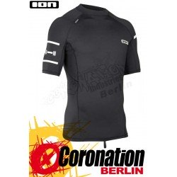 ION Rashguard Men SS quickdry Black