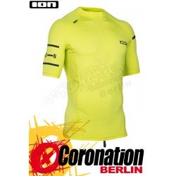 ION Rashguard Men SS quickdry Yellow