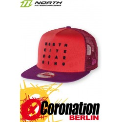 North New Era Cap 59fifty LETTER red