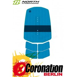 North TRACTION PAD 7mm - Front Pad (5pcs) Fußpads Blue