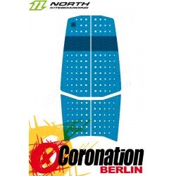 North TRACTION PAD Pro 5mm - Front Pad (3pcs) Fußpads Blue