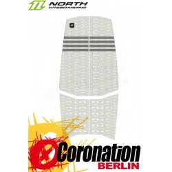 North TRACTION PAD Pro 5mm - Front Pad (3pcs) Fußpads White