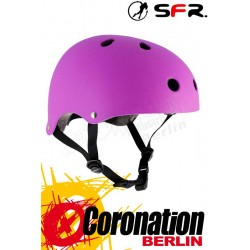 SFR Essentials Skate/BMX Helmet Purple