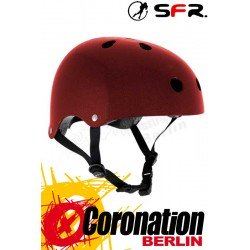 SFR Essentials Skate/BMX Helmet Metallic Red