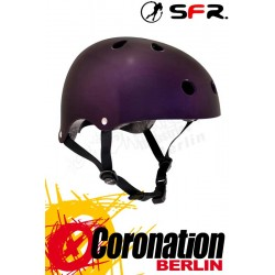 SFR Essentials Skate/BMX Helmet Metallic Purple