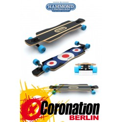 Hammond Longboard Free Ride Star Drop Through complete